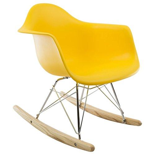 RAR Kinder-schaukelstuhl - Gelb