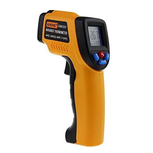 prettygood7 GM320 Berührungslose LCD IR Laser Infrarot Temperatur Thermometer Pistole -