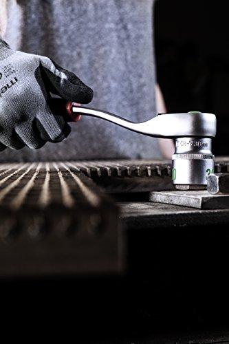 Meister Werkzeugkoffer 59-teilig ✓ Montage-Werkzeug-Set ✓ Für Haushalt, Garage & Werkstatt | Profi Werkzeugkoffer befüllt | KFZ-Werkzeugkiste | Werkzeugbox komplett mit Werkzeug | 8973200 - 5