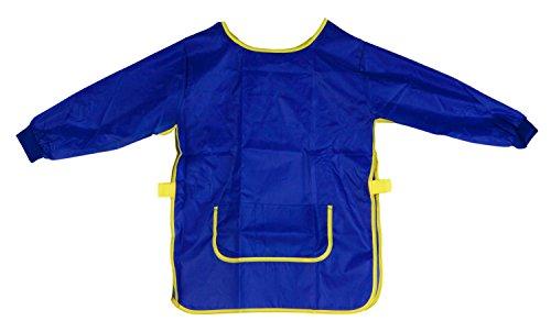 Idena 611183 - Bastelschürze, Alter 5 - 6 Jahre, blau (Mädchen Kleidung Com)
