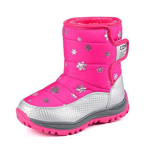 Beikoard_Babykleidung Kinder Schneeschuhe Jungen und Mädchen Stiefel Baumwollschuhe Rutschfeste Kinderschuhe Winterstiefel Mode Kinder Schuhe Studenten Turnschuhe Stiefel