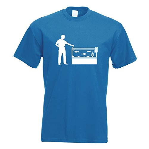 uariums T-Shirt Motiv Bedruckt Funshirt Design Print ()