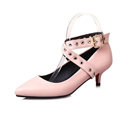 RFF-Chaussures de printemps, d'été et d'automne Escarpins Femme/Ouvert/European and American big Code Women Shoes Pointed High, Low and Shoes