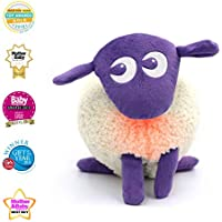 Sweet Dreamers, Ewan The Dream Sheep, Purple - Baby White/Pink Noise Machine and Sleep Aid Toy with Night Light