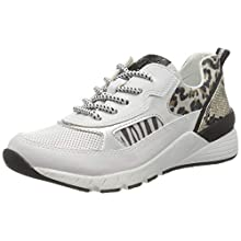 MARCO TOZZI Women's 2-2-23734-34 Low-Top Sneakers, White (White Comb 197), 3.5 UK