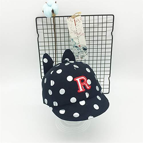 e Version der Flut Baby Hut Brief Sonnenhut 6-18 Monate Kinder Cap Boy Baumwolle Baby Baseball Cap 4 48-52cm ()