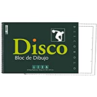 BLOC DIBUJO DISCO 130 GR ESPIRAL 230X330MM 20H CAJA RECUADRO