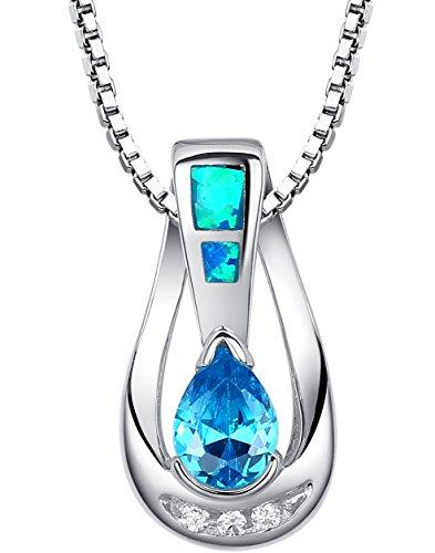 arco-iris-schmuck-damen-halskette-mit-anhanger-sterling-silber-mit-blauer-opal-und-trane-zirkonia-45