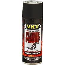 Pittura Bomboletta Vernice Smalto Spray VHT Flame Proof Nera Opaca x Scarichi Marmitte Terminali Motori Alte