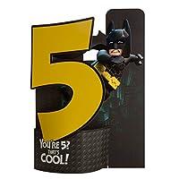 Hallmark Lego Batman Pop Up 5th Birthday Card
