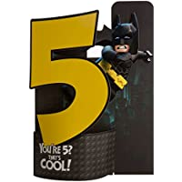 Hallmark Lego Batman Pop Up 5th Birthday Card 'That's Cool' - Medium