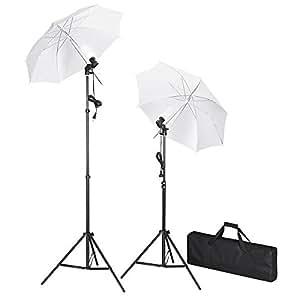 fotostudio fotolampe studiobeleuchtung set mit stative kamera. Black Bedroom Furniture Sets. Home Design Ideas