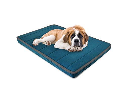 Orthopädisches Hundebett Memory Schaum Bezug über Noppenschaum Box Matte (Orthopädische Matte)