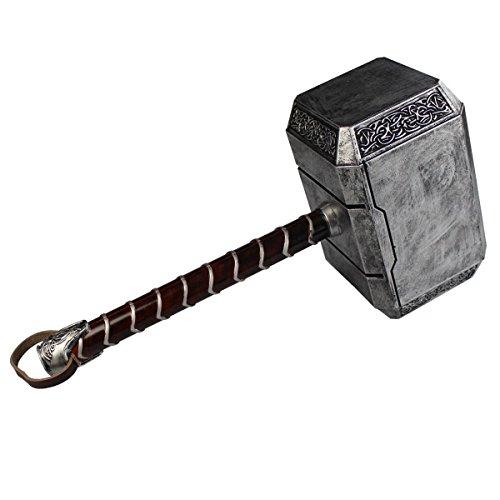 Thors Hammer Mjölnir als Polsterwaffe (Legendären Halloween Kostüme)