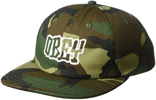 Caps Obey (Obey herren 100580135  Baseballmütze -  grün -  Einheitsgröße)
