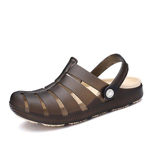 Chaussons de plage pour hommes, chaussons, chaussons antidérapant dété brown