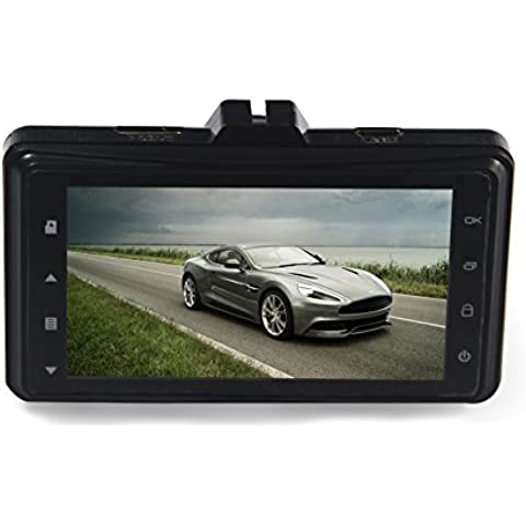 Dax-Hub G103.0pollici TFT auto schermo LCD 170° Grandangolo, Full-HD 1080p HD Dash Cam, memoria 32G per auto, cruscotto DVR digitale Video registratore di guida, sicurezza del veicolo tachigrafo, registrazione in loop con G-sensor, WDR Registratore DVR, visione notturna