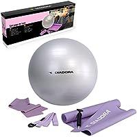 Diadora Fitness A-1290SE60 Set Yoga Deluxe, Blu