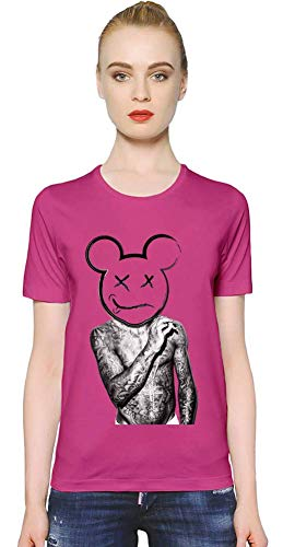 Lil Wayne YMCMB Dope Women T-Shirt Girl Ladies Stylish Fashion Fit Custom Apparel by Small - Shirt Rosa Wayne Lil