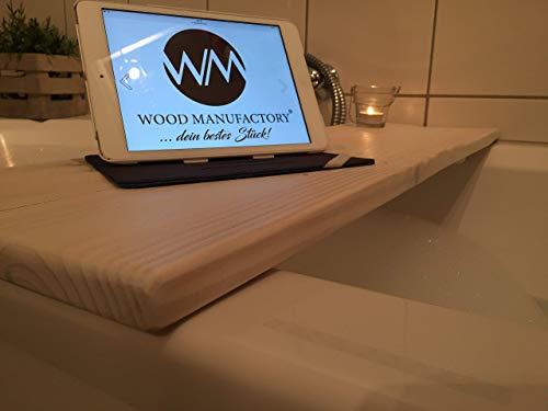 """Palettenmöbel Badewannenablage \""""Bozen\"""" aus Paletten Badezimmermöbel Handgefertigt"""