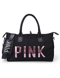AREO Pink Women Ladies Travel Duffle