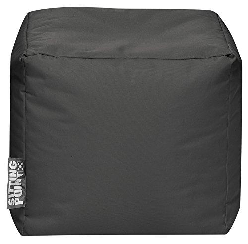 Sitzsack Scuba Cube 40x40x40cm anthrazit (Outdoorgeeignet)