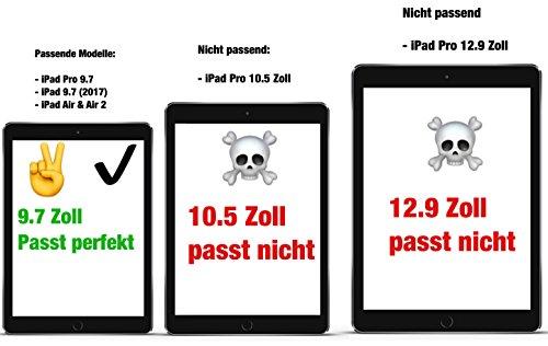 XeloTech iPad Pro 9.7 Panzerglas / iPad 2017 9.7