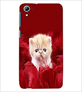 HTC DESIRE 826 KITTY Designer Back Cover Case By PRINTSWAG