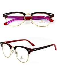 RXRENXIA Gafas De Sol Polarizadas Retro UV Gafas De Sol (Unisex) Marco De Metal