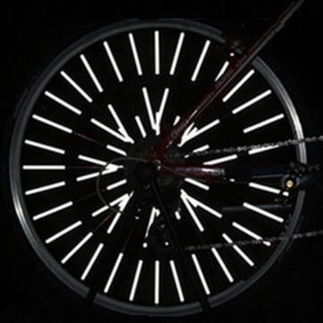 Versand kostenlos 7 ~12 Tage Rad-Fahrrad-Fahrrad 12 LEDs Parlait Reflektor reflechissants montage, Clip// 12 LEDs Bike Bicycle Wheel Spoke Reflector Reflective Mount Clip