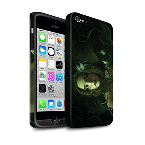 Officiel Elena Dudina Coque / Matte Robuste Antichoc Etui pour Apple iPhone 4/4S / Feu Blanc Design / Un avec la Nature Collection Bain Caché