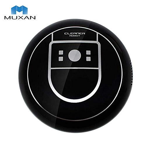 Muxan - Robot de aspiración ultrafino de 70 mm, aspirador más potente para limpieza de pelos, alfombras...