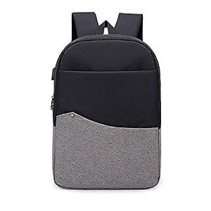 41pHlnMEgqL. SS300  - BEIBAO Inteligente Mochila USB Recargable Shoulder Bag para Hombres y Mujeres 16.5 Pulgada Business Computer Bag (Gris Gris Oscuro Color de Rosa Azul)