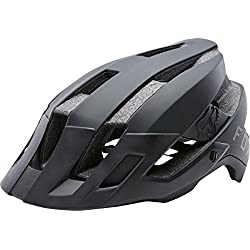 Fox Flux Casco, Black, tamaño S/M