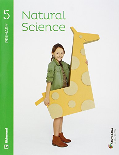 NATURAL SCIENCE 5 PRIMARY STUDENT'S BOOK + AUDIO - 9788483056752