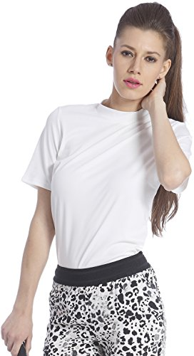 Only Women's White Coloured Casual T-shirt