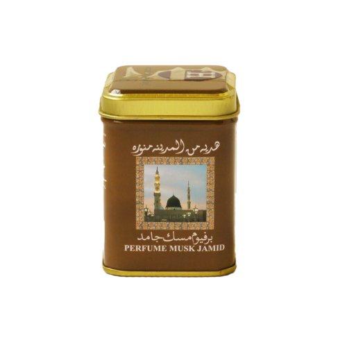 Musk Jamid solid (Almizcle) perfume- ambientado sólido de 25 grs