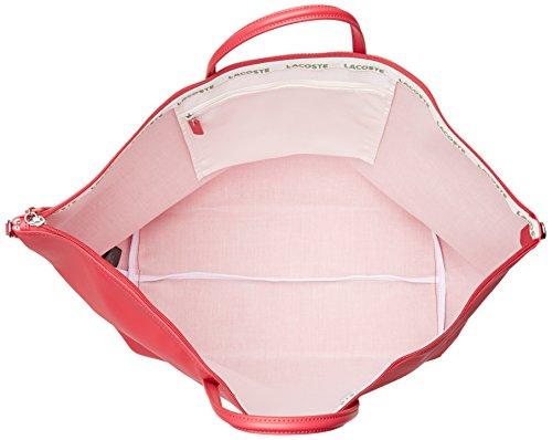 Lacoste NF1947PO, Borsa a Tracolla Donna, 36.5 x 22 x 42.5 cm ROSA VIRTUALE (Virtual Pink)
