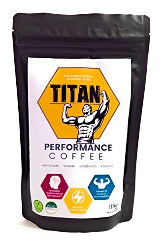 Nootropic infused Coffee | Mushroom Coffee | Cognitive Enhancers | 30 Servings | Lions Mane | Brain Vitamins | Athletic Performance