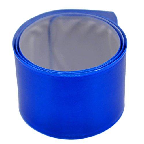Safe-t-beam (HCFKJ Fahrrad Reflektierende Safe Leg Hosen Clip Strap Beam Band Bottom Belt (D))