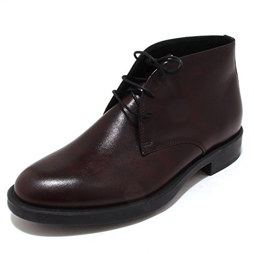 4350P polacchino ANTICA CUOIERIA bordeaux scarpa uomo shoe men [44]