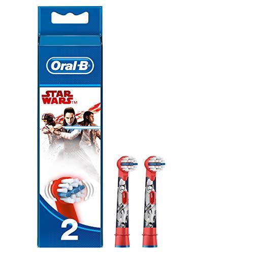 Oral-B Star Wars Aufsteckbürsten,Für Kinder ab 3 Jahren, 2 Stück