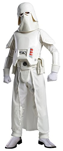 Star Wars Deluxe Snow Trooper Kinder Kostüm Größe S - Star Wars Deluxe Snow Trooper Kinder Kostüm