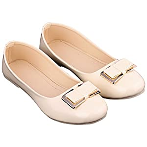 Red Choice Collection Synthetic Leather Beige Women's Bellies