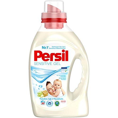 Persil Sensitive Gel Flüssigwaschmittel, 20 Waschladungen