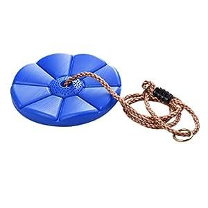 samber balan oire disque en plastique avec corde bleu charge maximale 70kg int rieur ext rieur. Black Bedroom Furniture Sets. Home Design Ideas