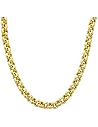 Citerna 9 ct Yellow Gold Thick Belcher Chain Necklace