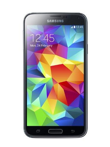 Samsung Galaxy S5 - Smartphone libre Android (pantalla 5.1', cámara 16 Mp, 16 GB, Quad-Core 2.5 GHz, 2 GB RAM), negro