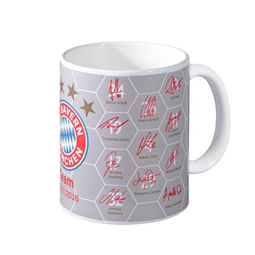 """FC Bayern München Tasse """"Unterschriften"""""""