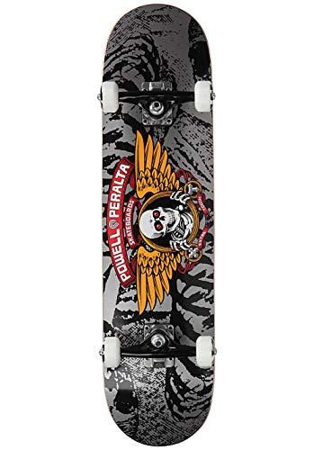 "Powell Peralta Skateboard Complete Deck Winged Ripper 8.0"" Complete Complete"